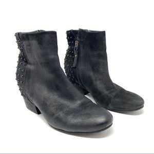 Gentle Souls Black Fierce Studded Boots